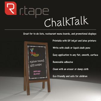 Chalk Talk Vinyl By RTape