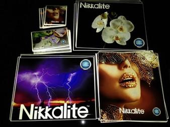 """Nikkalite 48006 Blue Reflective Vinyl - 24"""" x 10yds"""