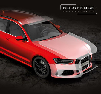 "SKINTAC BODYFENCE 30"" x 66ft - Gloss Paint Protection Film"