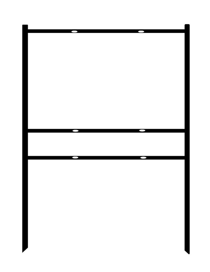 Double Sided H-Frame