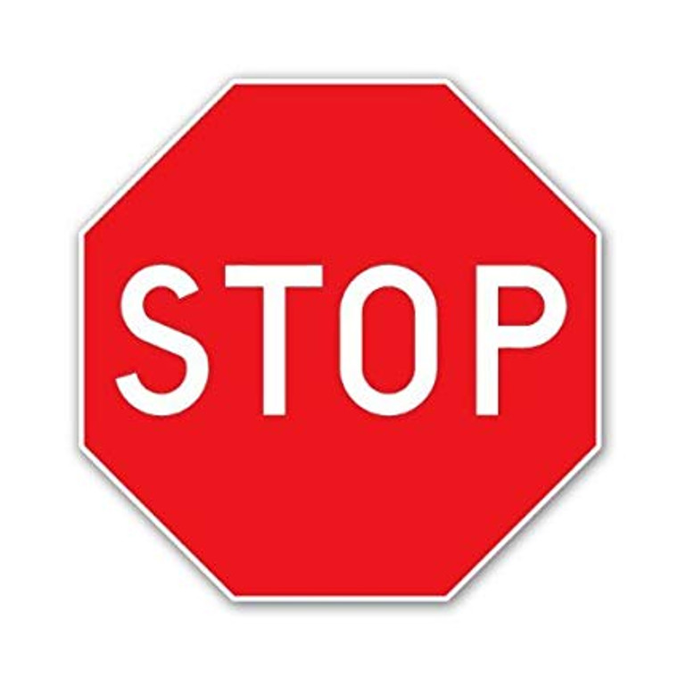 Printed Stop Signs
