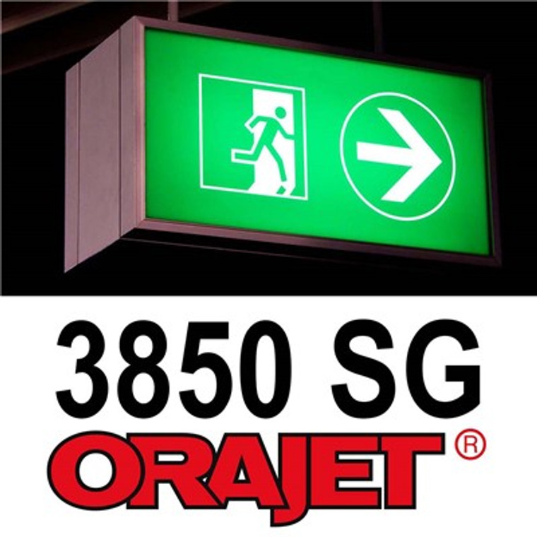 "Orajet 3850 Printable Translucent Vinyl - 54"" x 50yds"
