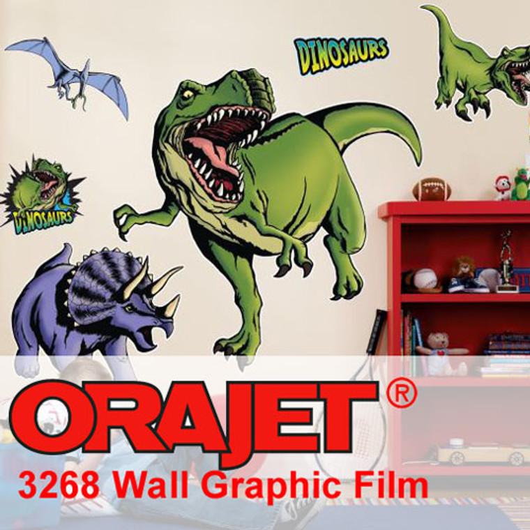 "Orajet 3268M Wall Graphic 6 Mil Vinyl - 30"" x 150ft"