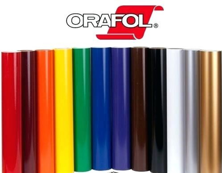 """Oracal 651 - ALL COLORS - 24"""" x 10yds"""