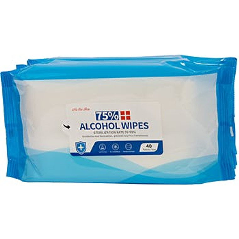 MagiCare 75% Alcohol Wipes - 40 Pack