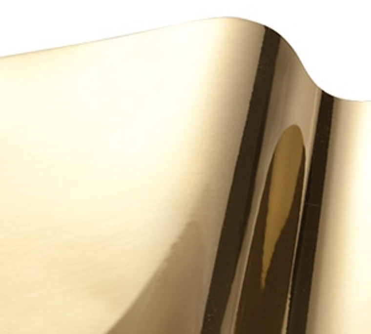 """R-Tape Vinyl EFX - Outdoor Durable - 24"""" x BY THE YARD - Smooth Gold"""