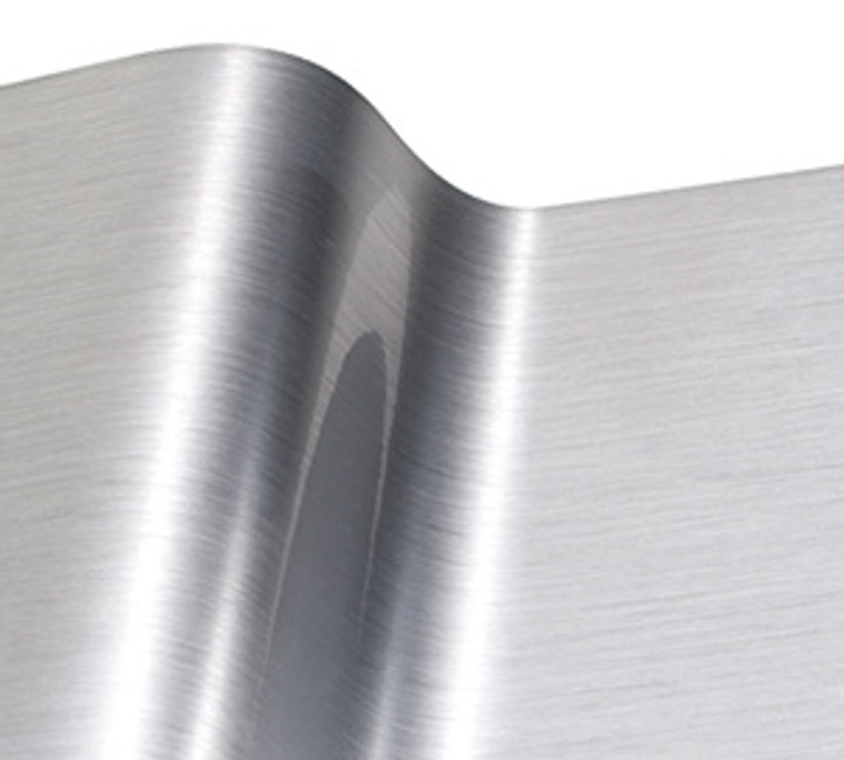 """R-Tape Vinyl EFX - Outdoor Durable - 24"""" x BY THE YARD - Fine Brushed Silver"""