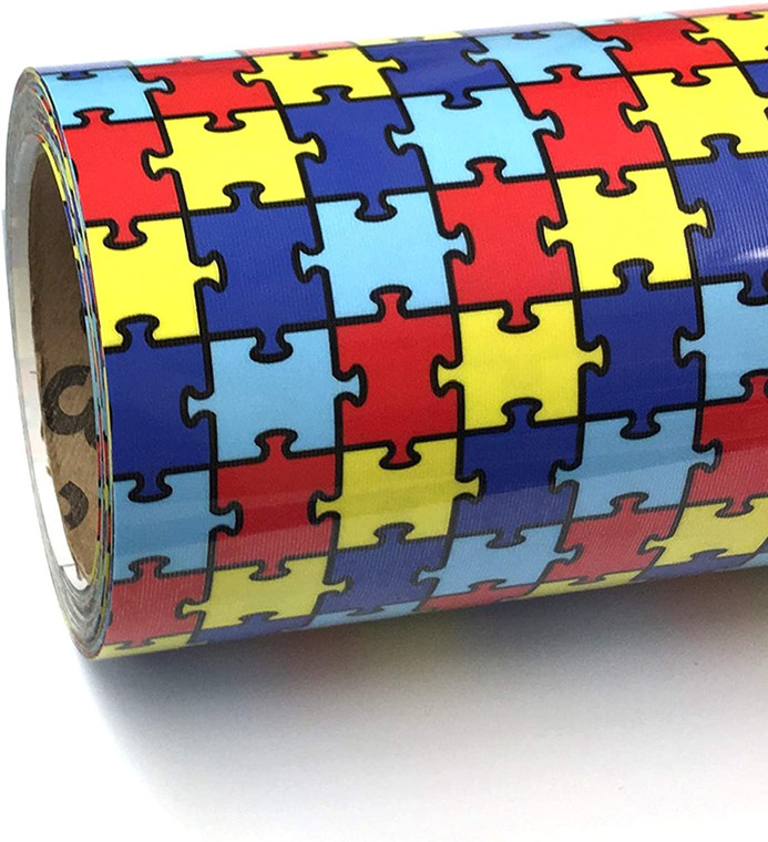 """ThermoFlex® Fashion Patterns - Autism - 12"""" x By the yard"""