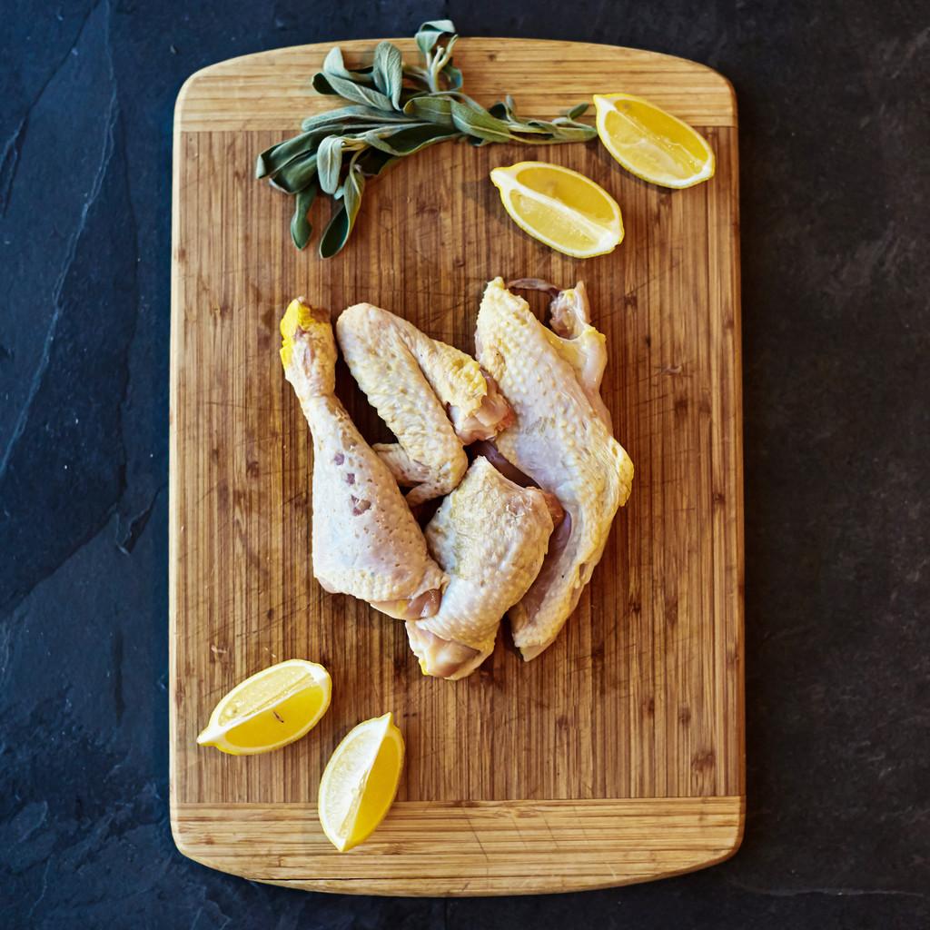 Half Heritage Chicken Cut-Up