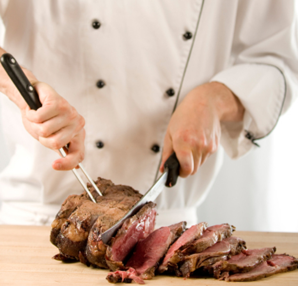 rib eye roast cooked