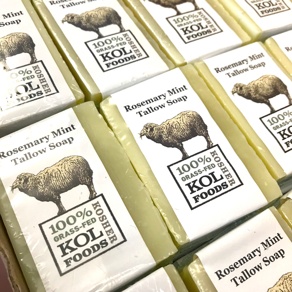 Mint & Rosemary Tallow Soap