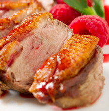 duckling breast cooked