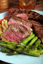 skirt steak cooked