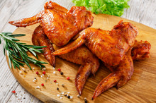duckling wings cooked
