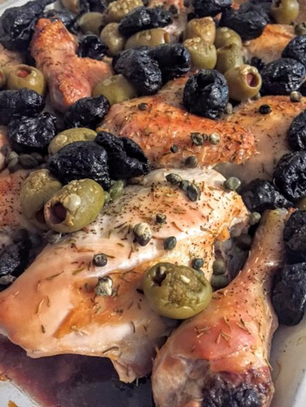 Chicken Marbella