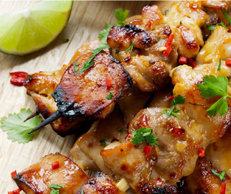 Ultimate Grilled Chicken Skewers
