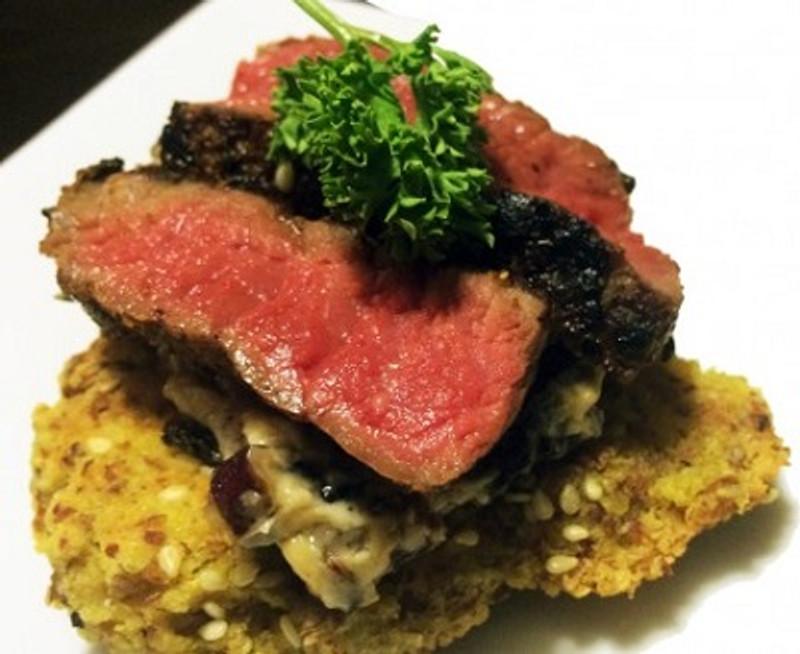 Garam Masala Steak Sliders