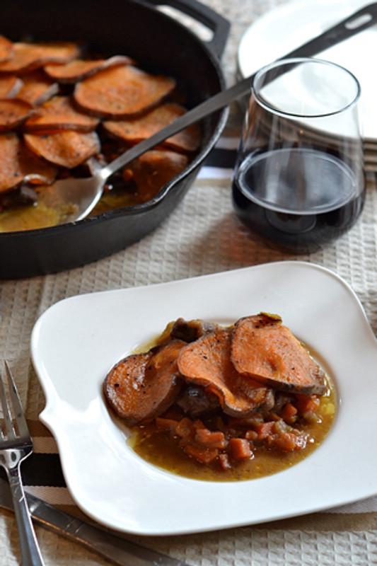 Lamb & Sweet Potato Lancashire Hotpot