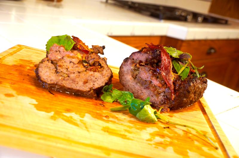 Rustic Stuffed Meatloaf