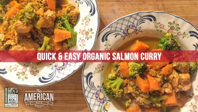 Quick & Easy Salmon Curry