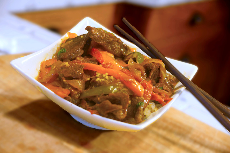 Asian Style Pepper Steak