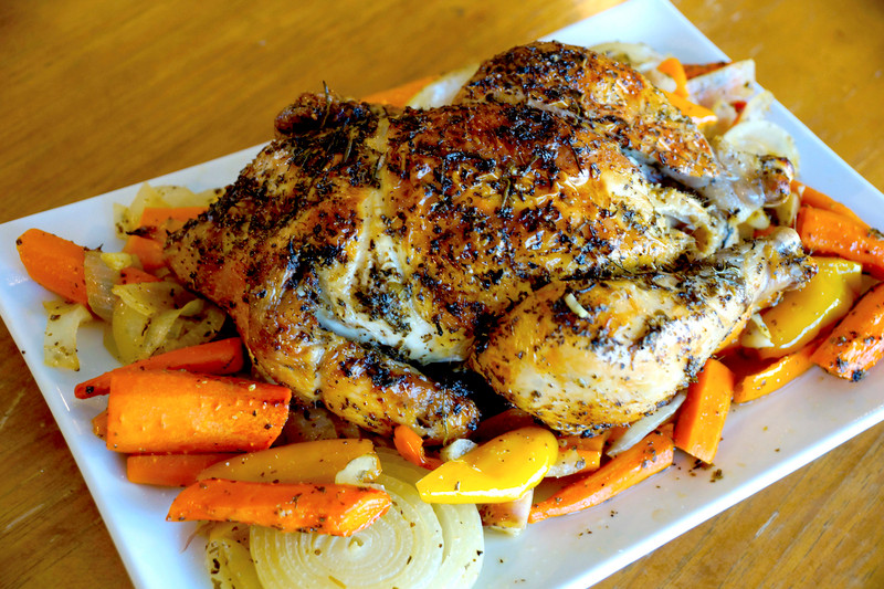 Simple and Elegant Roasted Chicken
