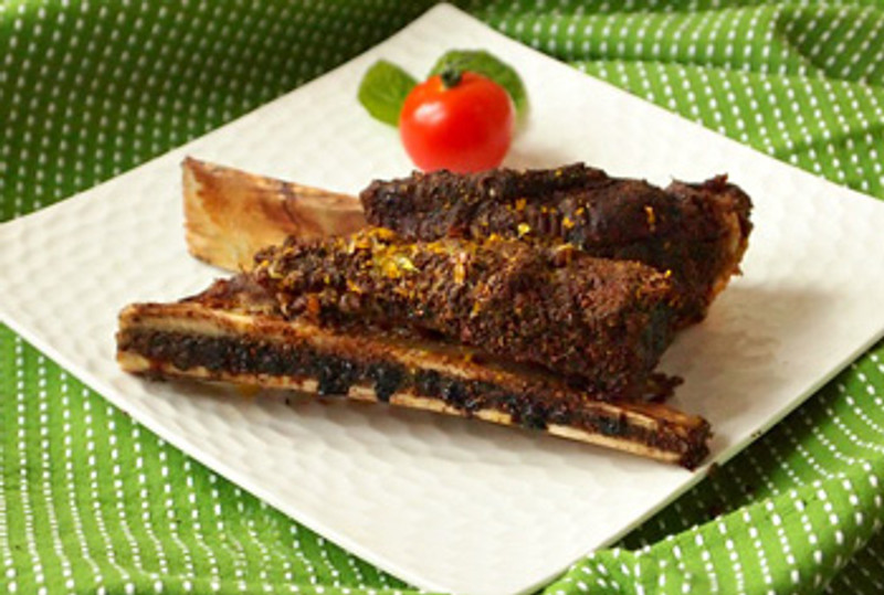 Dry Rub Roasted Spare Ribs