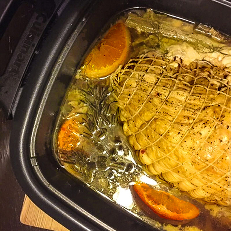 Zesty Slow Cooked Turkey Breast