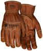 MCR Safety MU3624KXL Mustang Utility Goatskin Leather Gloves, Size XLarge (1 Pair)