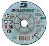 """Dynabrade 79848 DynaSpark ZA 9"""" x 1/4"""" x 5/8""""-11 T27 Grinding Wheel (Qty. 10)"""