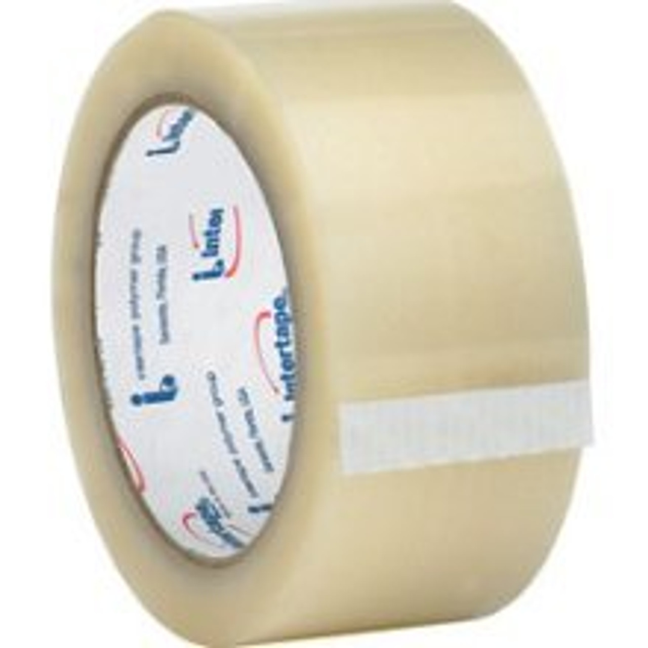 "Intertape 6100 Clear Carton Sealing Tape 2"" x 110 yds. (36 Rolls)"