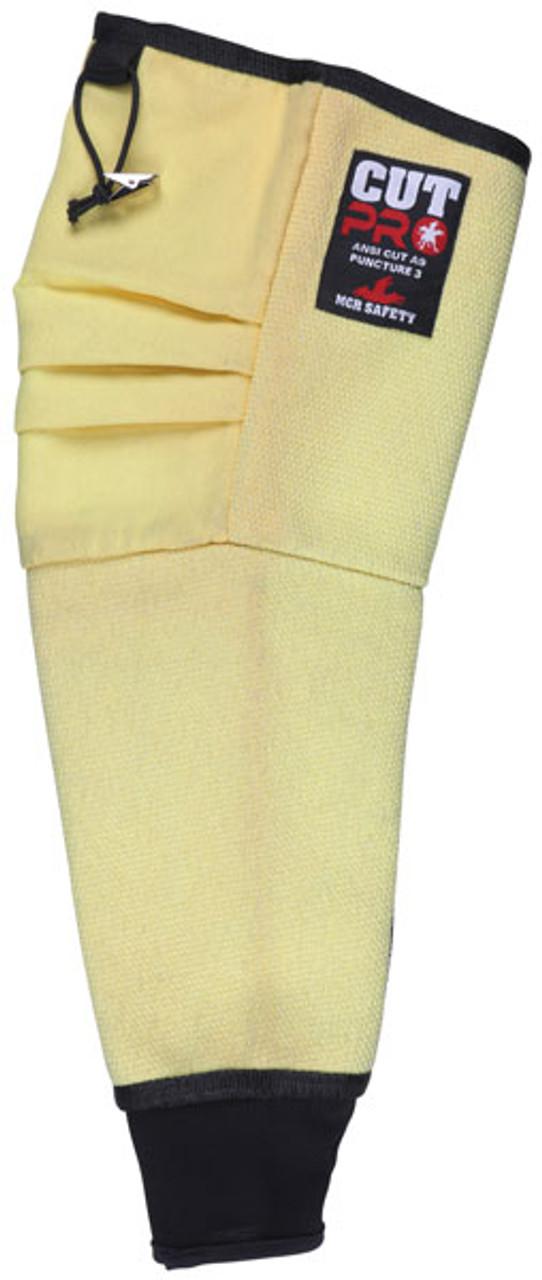 MCR 93719MK Yellow Cut Pro, Modacrylic Sleeve, 19 Inch Length, Qty. 1