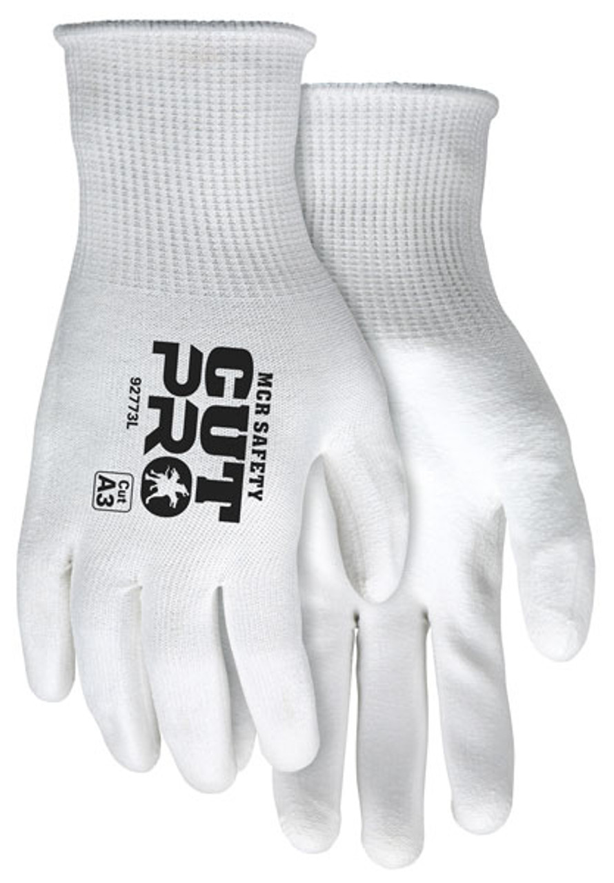 MCR Safety 92773XL Cut Pro 15 Gauge Hypermax Shell Gloves, Size XLarge (12 Pair)