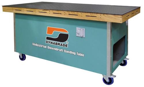 "Dynabrade 64210-36"" w x 72""l Downdraft Sanding Table 230 V 3 Phase 60 Hz"