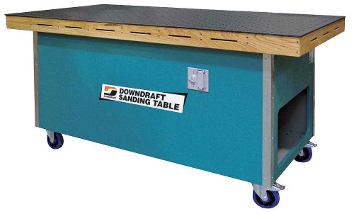 "Dynabrade 64700 36"" W x 72"" L Downdraft Sanding Table 115 V 1 Phase 60 Hz"