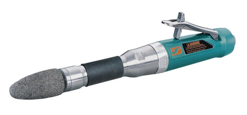"""Dynabrade 52721 - Cone or Plug 6"""" (152 mm) Extension Wheel Grinder 1 hp Straight-Line 18 000 RPM Rear Exhaust 3/8""""-24 Spindle Thread"""