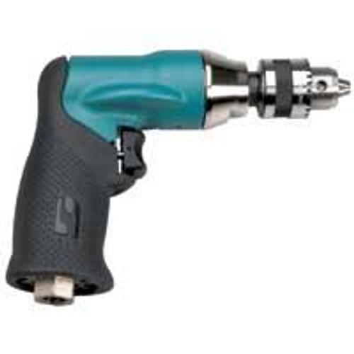"Dynabrade 52831 1/4""Drill .4hp 500 RPM Pistol-Grip Geared Rear Exhaust DynaChuck"