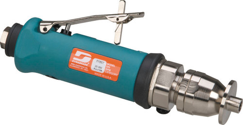 """Dynabrade 51857 - .7 hp Trim Router (Complete) 20,000 RPM, Rear Exhaust, 1/4"""" Collet, Governor-Controlled"""