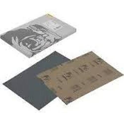 """Mirka 21-118-P1200 - Waterproof 5-1/2"""" x 9"""" Half Sheet 1200 Grit"""