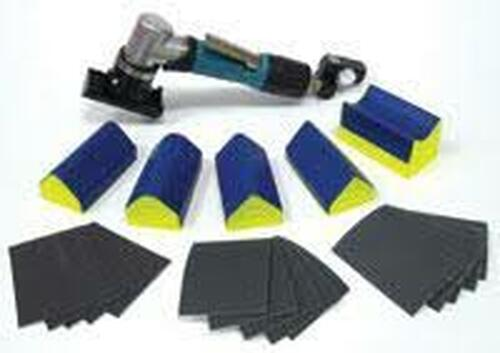 "Dynabrade 58010 Dynafine Backsplash Sander Versatility Kit .12hp 13000RPM 1/32"""