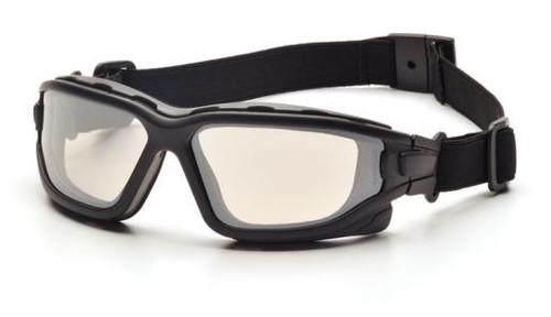 Pyramex SB7080SDT I-Force Safety Glasses, Frame: Black, Lens: Indoor/Outdoor Mirror Anti-Fog (12 Pair)