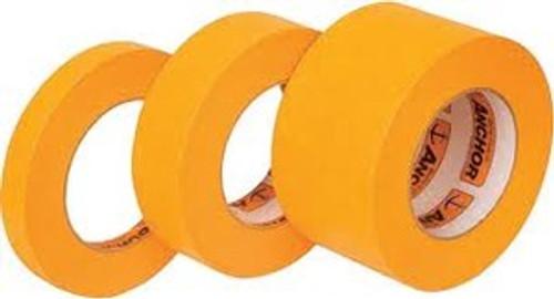 """Intertape Orange Mask, High Temperature Premium Grade Masking Tape, 24mm x 55 (1"""") (36 Rolls)"""