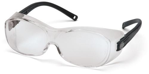 Pyramex S3510SJ Otis Safety Glasses, Frame: Black, Lens: Clear (12 Pair)