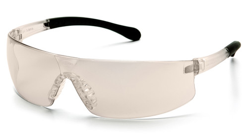 Pyramex S7280ST Provoq Safety Glasses, Frame: I/O Mirror, Lens: Indoor/Outdoor Mirror Anti-Fog (12 Pair)