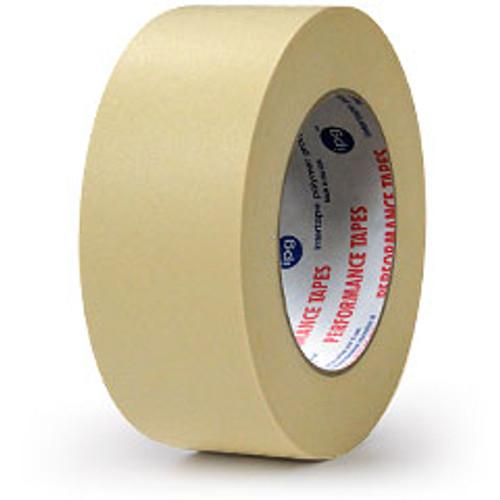 "Intertape PG48 Premium Paper High Temperature Masking Tape 1 1/2"" x 60 yds. (24 Rolls)"