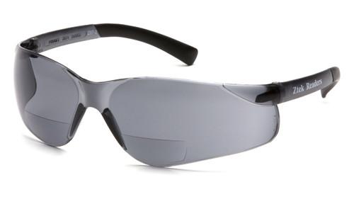 Pyramex S2520R25 Ztek Readers Safety Glasses, Frame: Gray, Lens: Gray + 2.5 (12 Pair)