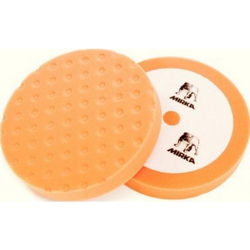 """Mirka MPADOF-8 - 8"""" CCS Orange Flat Foam Polishing Pad (Cutting)"""