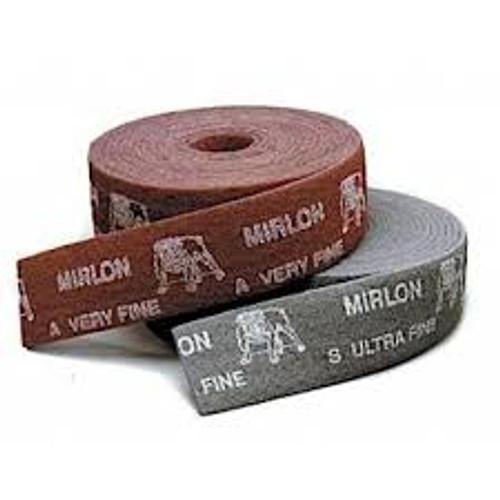 """Mirka 18-573-373 - Mirlon Total 4-1/2"""" x 33' Scuff Roll (Maroon) 360 Grit"""