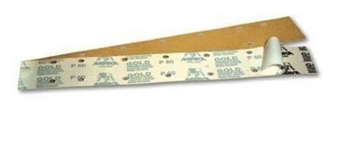 """Mirka 23-364-080 - Bulldog Gold 2-3/4"""" x 16-1/2"""" PSA File Sheet 080 Grit"""