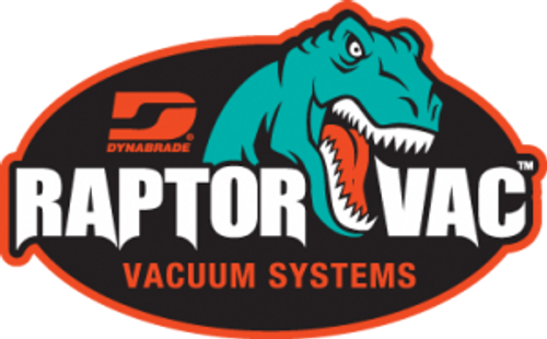 Dynabrade 61440 - Raptor Vac Air Powered Portable Vacuum System Division II, 10 Gallon (38 Liter)